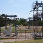"""OG&E Substation with Disconnected Low Side"" by TheElectricOrphanage"