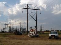 KG&E 138-kV H-frame and Stringing Equipment