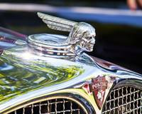 1931 Chrome Pontiac Mascot, with badge