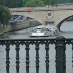 """Paris, Bateau Mouche on the Seine"" by argaito"