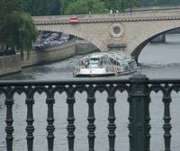 Paris, Bateau Mouche on the Seine