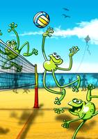 Olympic Volleyball Frog