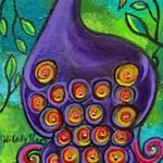 """""""Purple Peacock"""" by juliryan"""
