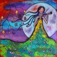 Meadow Music Art Prints & Posters by Juli Cady Ryan