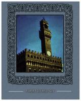Florence City Hall 1973: Vintage Travel Poster