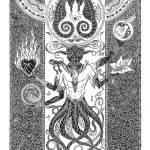 """Octobull (org. 20""x30"")"" by KenRileyArt"