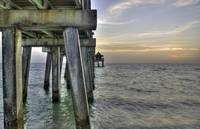 Naples Pier at Sunset 1 HDR