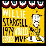 """Willie Stargell Pittsburgh Pirates"" by jbperkins"