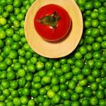 """Peas and tomato"" by ale_flamy"