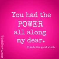 Glinda the Good Witch Quote