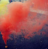 Smoke Bomb in Red/Yellow