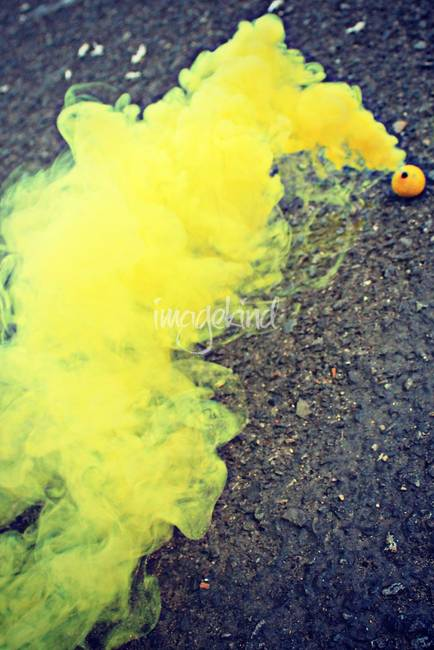 "Yellow Smoke Bombs Smoke Bombs in Yellow """