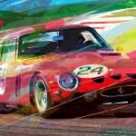 """Ferrari 250 GTO Vintage Racing"" by DavidLloydGlover"