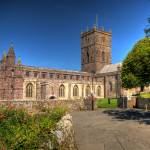 """St Davids Cathedral Pembrokeshire"" by StevePurnell"