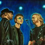 """Bee Gees"" by paintingsbygretzky"