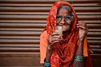 A Lady and her Chai