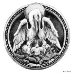 """Pelican (With Ring Only)"" by davemyersartisservant"