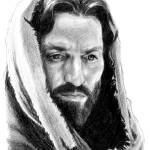 """Portrait of Christ (From Passion of the Christ)"" by davemyersartisservant"
