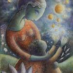 """Mother and Child"" by NancyHannans"