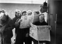 U.S. Navy Sailors return to San Francisco WWII by WorldWide Archive