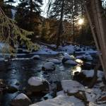 """Gore Creek, Vail Colorado Winter 2011"" by Nielswright"