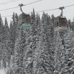 """Gondolas at Vail SKi Resort, Winter 2010"" by Nielswright"
