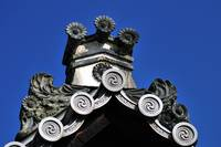 Kodaji Temple Roof Detail