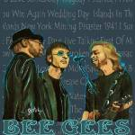 """Bee Gees Poster"" by paintingsbygretzky"