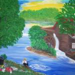 """""""Summer Mill by the river"""" by elajanus"""