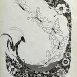 """""""Nouveau Mantis (org.13""""x17"""")"""" by KenRileyArt"""