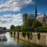 """Notre Dame and La Seine"" by Inge-Johnsson"