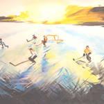"""SASKATCHEWAN WINTER"" by PERRYS-CLASSIC-ART"