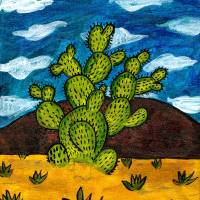 Beautiful Desert Day Art Prints & Posters by Melsky W