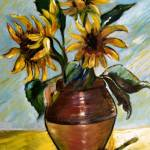 """sunflowers 1"" by arlen"