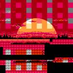 """NES Hex Glitch - Bionic Commando 1"" by MaxCapacity"