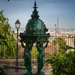 """Montmartre Wallace Fountain"" by Inge-Johnsson"