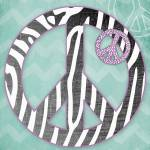 """Zebra Peace"" by lindawoods"