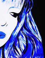 Blue Cartoon 1