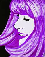 Purple Cartoon 2