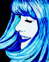 Blue Cartoon 2