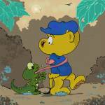 """""""Ferald and A Baby Lizard"""" by KeithWilliams"""