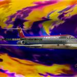 """Warp 7, Northwest Airlines DC-9-30"" by ColoradoArt"