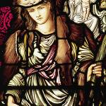 """""""The Tibertine Sibyl, a stained glass design by Edw"""" by neilepi"""