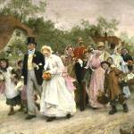 """The Village Wedding by Luke Fildes"" by neilepi"