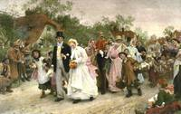 The Village Wedding by Luke Fildes