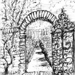 """37_Filoli_Gate"" by carolhoughton"