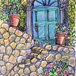 """73_Tuscan_Doorway"" by carolhoughton"