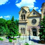 """SANTA FE CATHEDRAL"" by KimRoeArt"