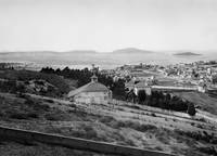 Overlooking Cow Hollow, San Francisco c1885 by WorldWide Archive