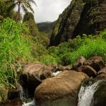 """Waterfall At The Iao Needle"" by jameseddy"